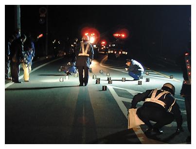 6 交通指導取締りと交通事故事件...