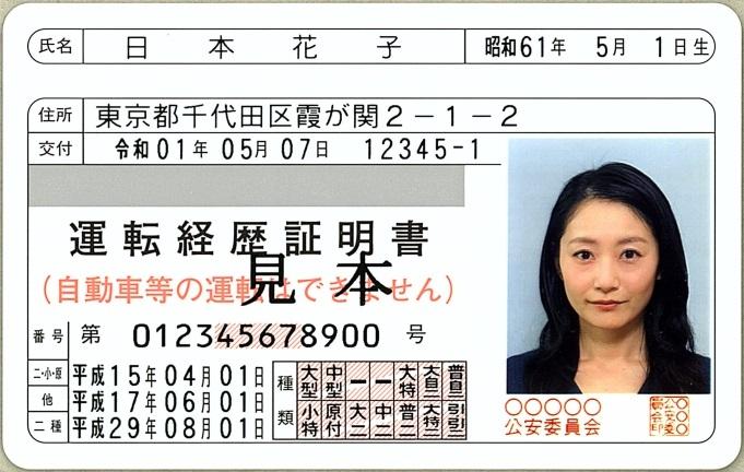運転 経歴 証明 書 と は 運転経歴証明書について|警察庁Webサイト